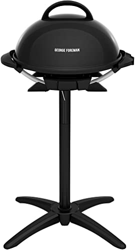 George-Foreman-Indoor/Outdoor-Electric-Grill,-15-Serving,-black