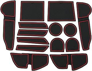 RaxTDM Custom Fit Cup Holder and Door Liner Accessories for Subaru Impreza and Crosstrek 2018 2019 2020