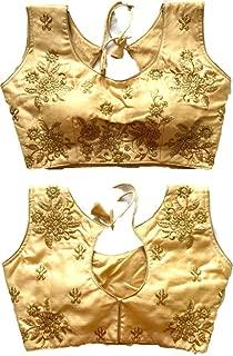 REKHA Ethnic Shop New Latest Fancy Praty Wear Blouse with Cups A850