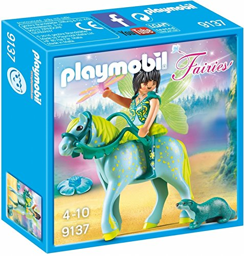 PLAYMOBIL Hadas 9137 Caballo Multicolor