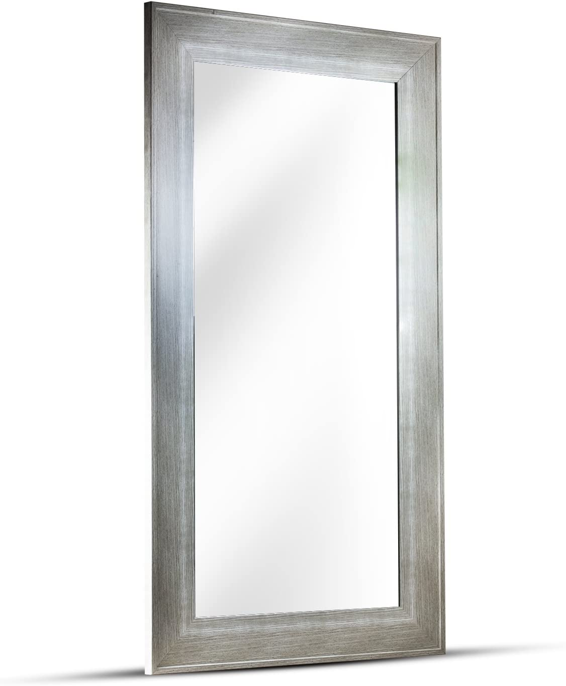 American Art Decor Leighton Rectangle Wall Credence Framed Vanity All stores are sold Accent