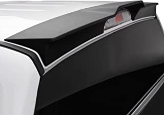 BIZON Truck Spoiler (fits) 2015-2019 Ford F150 Only Truck Cab Wing Spoiler Matte Black or Ready to Paint (983479BZ)
