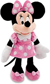"Disney 16"" Minnie Mouse in Pink Dress Plush Doll"
