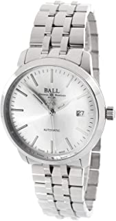 BALL Mens Legend Stainless Steel Case Silver Dial Automatic Movement Watch
