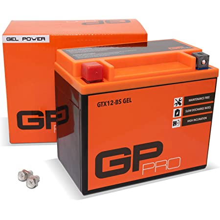Siga Agm Motorradbatterie 12v 12ah 220a En Agm Batterie Ytx12a Bs 51013 Ytz12s Ctx12a Bs Baumarkt