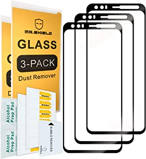 [3-Pack]-Mr.Shield For Google Pixel 4 [Upgrade Hold For Sensor Version] [Japan Tempered Glass] [9H Hardness] [Full Screen ...