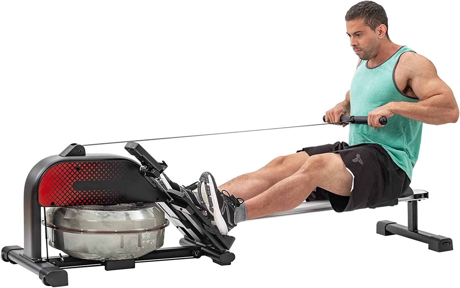 Indoor Rowing Machine Foldable with LCD Monitor for Home U