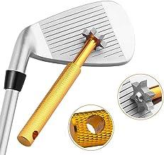 Halomy ゴルフクラブ グルーヴ シャープナー ゴルフ ウェッジ クリーナー 清潔用 アイアン溝のメンテナンスツール ゴルフアクセサリー 便利 軽量