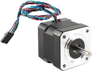 BCZAMD 3D Printer Motors Nema 17 Stepper Motor 42-40 Motor 1.8 Stepper Angle 1A 2 Phase with 4pin Wire for 3D Printer Prusa i3 MK2 MK2S MK3 MK3S X Axis