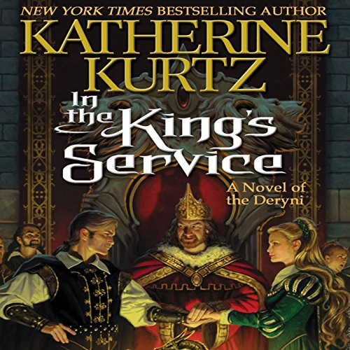In the King's Service audiobook cover art