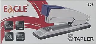 Eagle 207 Paper Stapler - Grey Red