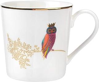 Portmeirion Home & Gifts Piccadilly Mug-Owl, Ceramic, Multi-Colour, 9.5 x 11.5 x 95 cm