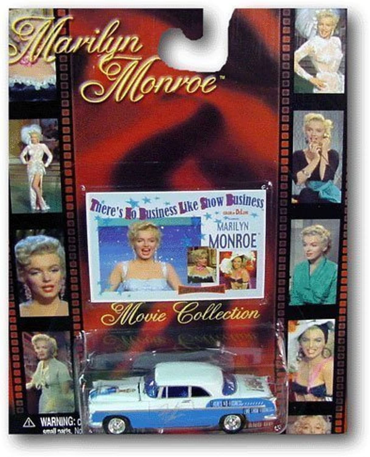 Marilyn Monroe There's No Business Like Show Business Diecast Car Movie Collectible 2002 Johnny Lightning Diamond Select
