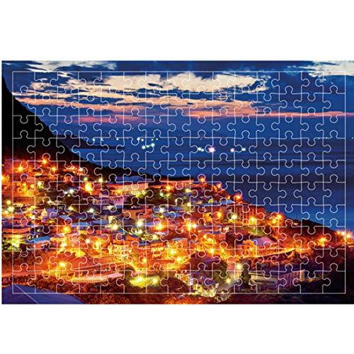 SiJOO Educación para Adultos Puzlle Toy 3D Puzzle, Rompecabezas de 1000/150 Piezas,