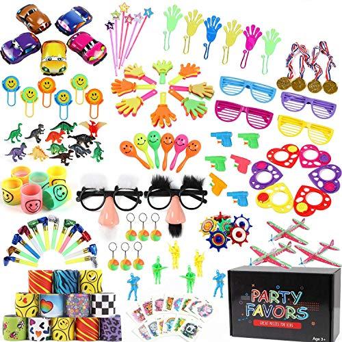 Tacobear Juguetes de Fiesta Relleno Piñata Juguetes Piñata Cumpleaños Artículos para Cumpleaños Niño Piñatas Regalo Premios de Aula Colegio Recompensas Regalo para Infantil Niños