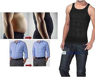 MCNICK Men's Compression Shirt Undershirt Slimming Man Bra