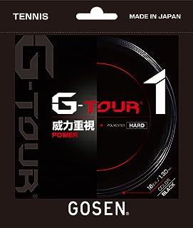 ゴーセン(GOSEN) テニス ガット ジー・ツアー・ワン 16L ブラック TSGT11BK