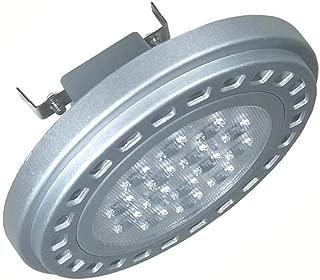 Led Ar111 Bulb G53 Base Track Light 15w 12v 3000k Soft Warm White Es111 Qr111 Spotlight Tracklight Reflector Light Halogen 75w 100w 120w Replacement Bulb (G53 3000k Soft Light,AC/DC 12v)