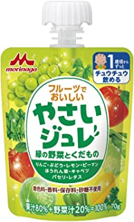 X6 or delicious vegetables jelly green vegetables and fruit in the fruit Morinaga