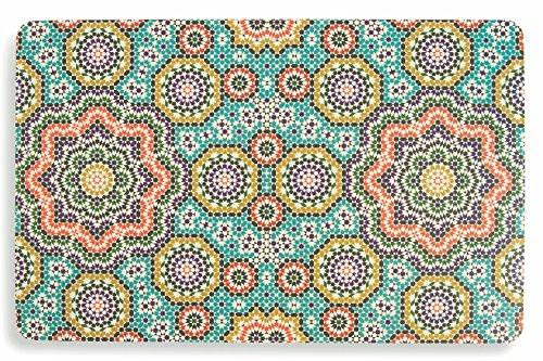 Villa d 'Este Home Tivoli Marrakech Juego de 6manteles Individuales, 44x 28x 0.1cm, 6Unidad