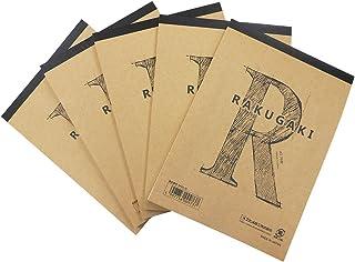 エヒメ紙工 らくがき帳 RAKUGAKI A5判 5冊パック ARA5-70×5P