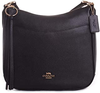 Women's Polished Pebble Leather Chaise Crossbody