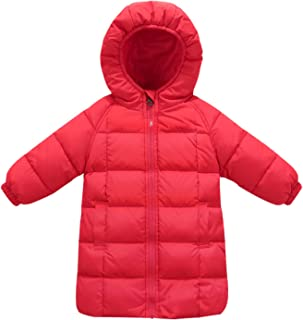 Floral Dinosaur Print Hooded Windproof Sherpa Lined Coat Outwear 18M-6T XILALU Toddler Baby Girl Boy Winter Warm Jacket