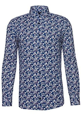Joop! Hemd Hanjo-W für Herren in Blau, XXL