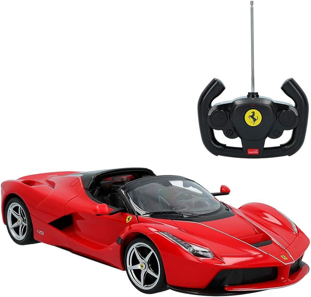 Rastar,auto telecomandata, modello ferrari, la ferrari,scala 1:14 41270