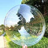 Bobo Balloons 50 Packs, 20 Inch Helium Style Transparent Bubble Bobo Balloons for LED Light Up Balloons, Gifts for Christmas,Wedding,Birthday Party Decorations (LED String Not Included)