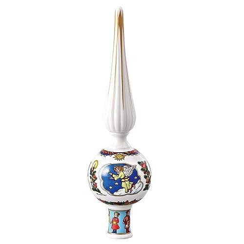 Cerbiatto in Porcellana in Posizione sdraiata Hutschenreuther Maria Theresia 02468-800001-24623 Bianco 5 x 4 cm