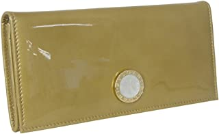 [ブルガリ] BVLGARI ブルガリ 長財布 二つ折り長財布 折りたたみ 長財布 フラップ ウォレット 33761 BB COLORE コローレ アンティークゴールド かぶせ蓋 無地柄 [並行輸入品]