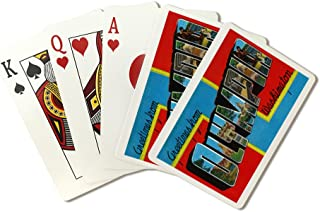 Greetings from Olympia, WA (Playing Card Deck - 52 Card Poker Size with Jokers)