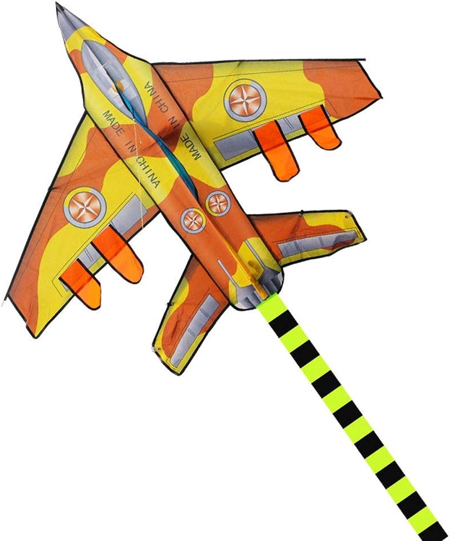 en linea LQW HOME-kite 300 cm Largo Aviones Aviones Aviones Cometa Nylon Ripstop diversión al Aire Libre Deportes Cometa Juguetes voladores para Niños (Color   amarillo, tamaño   Wireless)  tienda en linea