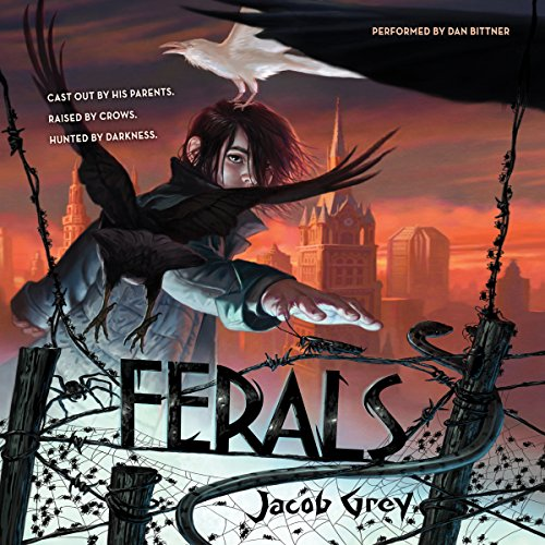 Ferals  audiobook cover art