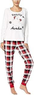 Women's Buffalo Plaid Bearly Awake Pajama Set