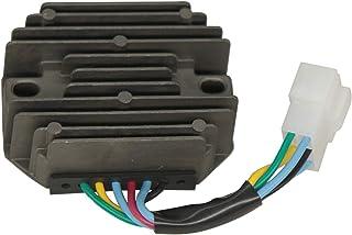 15351-64600 121450-77710 Regulador de Voltaje Rectificador 121450-77711 para Kubot a Cortacésped Zd18 Zd21 Zd25 Joh N Deer E Tractor Utilitario Jd4010 Jd4100 Jd4110 Yanma R Tractor Ym180 Ym186 Ym187