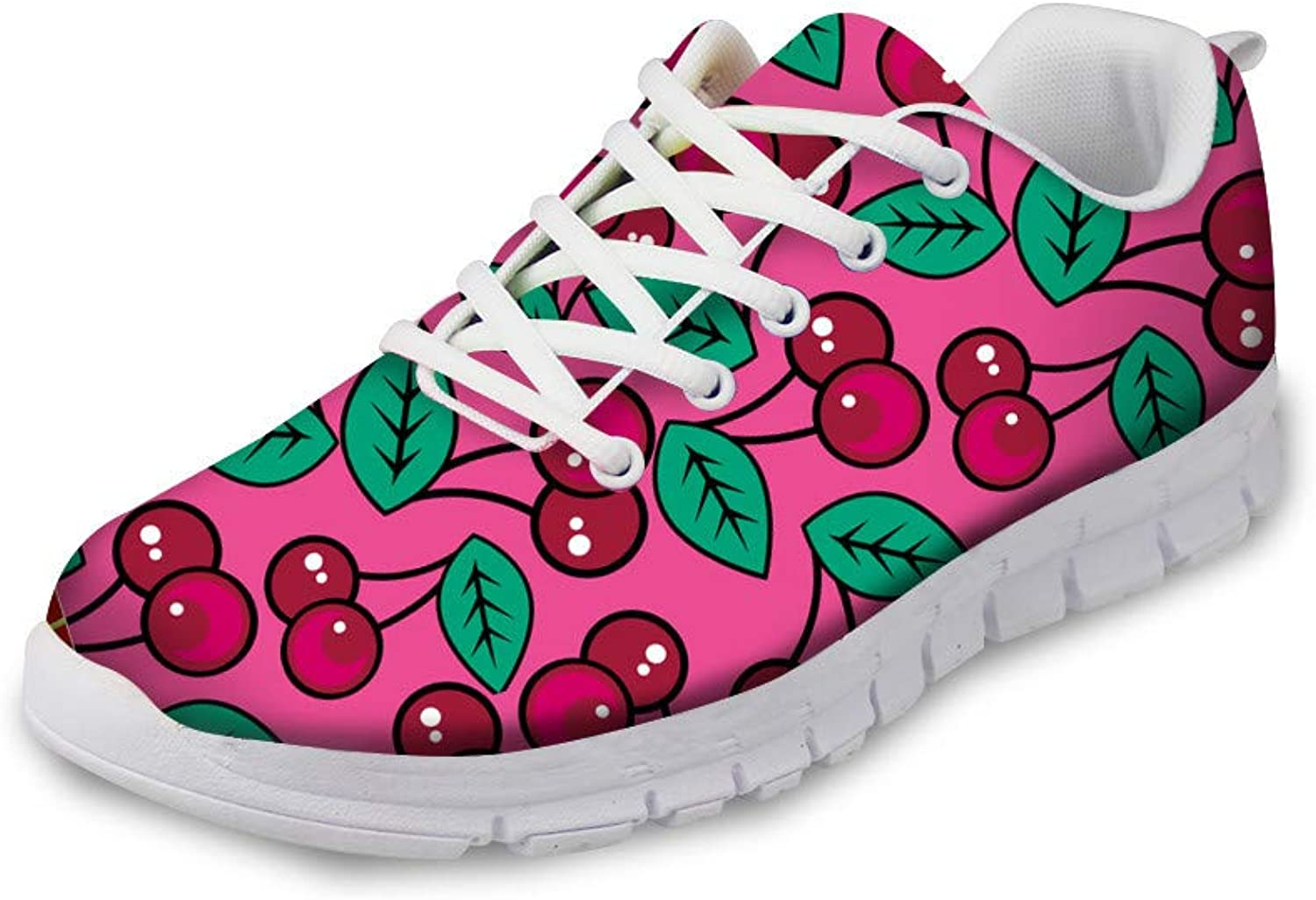 Fruit Print Fashion Designer Sneakers Casual Walking shoes for Women Men Kids Athletic