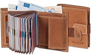 comprar comparacion Woodland - Billetera Super-Compacto con XXL tarjeteros para 18 Tarjetas Hechas de Aficionados no tratados