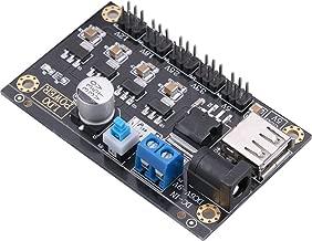 DC Buck Converter, Yeeco 6-9V to 1.2-5V 1.8V 2.5V 3.3V DC-DC Step Down Voltage Regulator Converter Adjustable Volt Transformer Board Power Supply Module