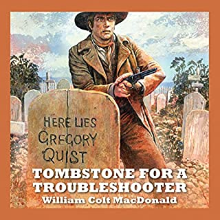 Tombstone for a Troubleshooter audiobook cover art