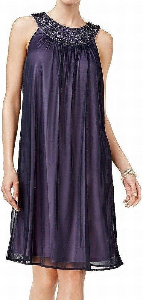 Jessica Howard Women's Embellished Shift Dress