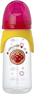 面包超人 奶瓶 240ml (十字切口) 塑料制 透明 広口タイプ