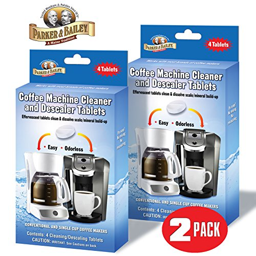 Parker Bailey Coffee Machine Cleaner Descaler
