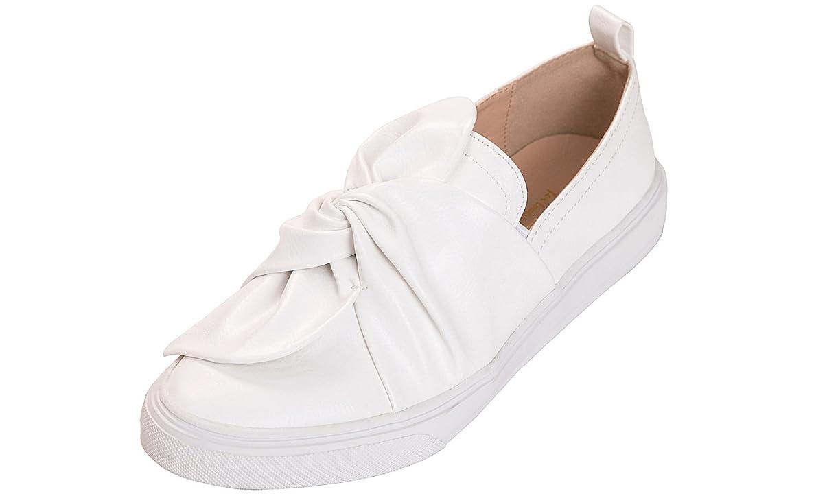 悪夢運動する受粉する[Feversole] Women's Fashion Slip-On Sneaker レディースファッションスリッポンスニーカー