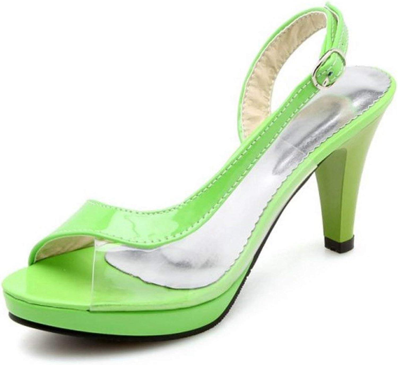 Houfeoans 6 colors Platform Bow Women shoes Summer Sandals High Heels Woman Sandals Footwear