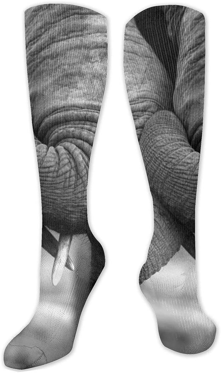 Elephant Knee High Socks Leg Warmer Dresses Long Boot Stockings For Womens Cosplay Daily Wear