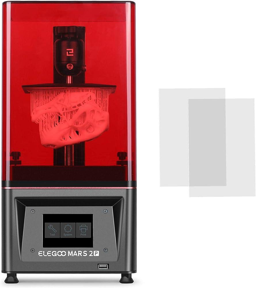 Elegoo mars 2 pro mono msla, stampante 3d msla uv fotopolimerizzazione uv stampante lcd 3d IT-UNI-3D-M2P