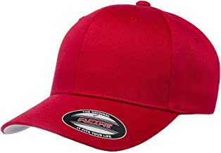 Yupoong Flexfit Home Run Stretch-Fitted Cap S/M Red