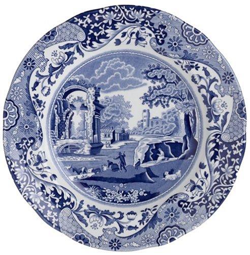 Kitchen Craft Blue Italienischer Teller, 20 cm